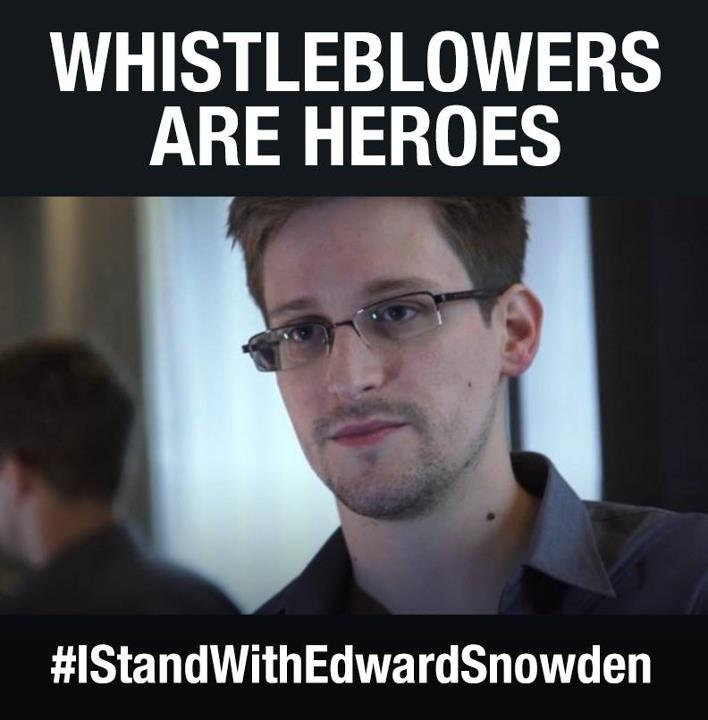 snowden hero