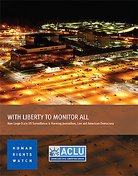 with liberty to monitor all cover
